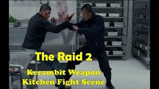 The Raid 2 - (Kerambit weapon scene)  Iko Uwais VS Cecep Arif Rahman