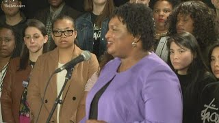 Stacey Abrams acknowledges Brian Kemp will be next Georgia governor