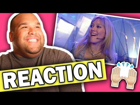 Hilary Duff - What Dreams Are Made Of (From The Lizzie McGuire Movie) REACTION