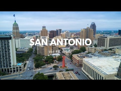 Downtown San Antonio in 4K