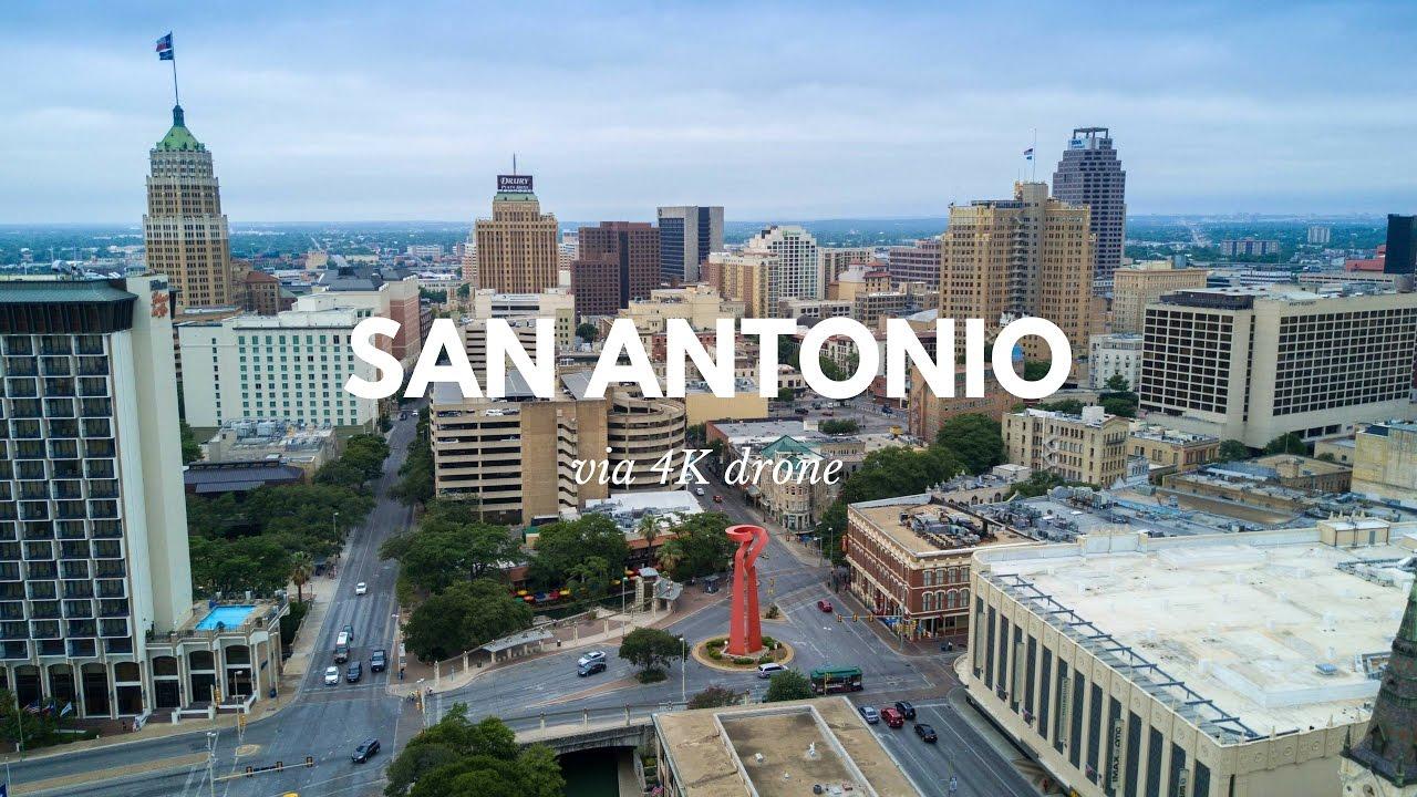 Downtown San Antonio In 4k Youtube