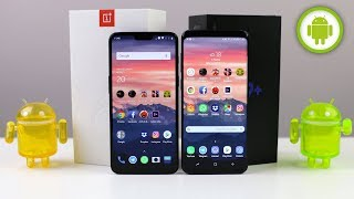 CONFRONTO ONEPLUS 6 vs SAMSUNG Galaxy S9 PLUS