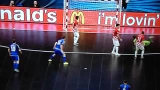 Kazakhstan vs Croatia (4-2) UEFA Futsal Euro 2016