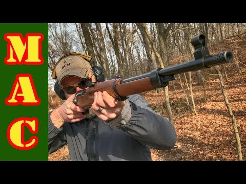 Danish Madsen M47 - The last military bolt action rifle