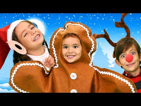 Finger Family Christmas Version | Kids Songs