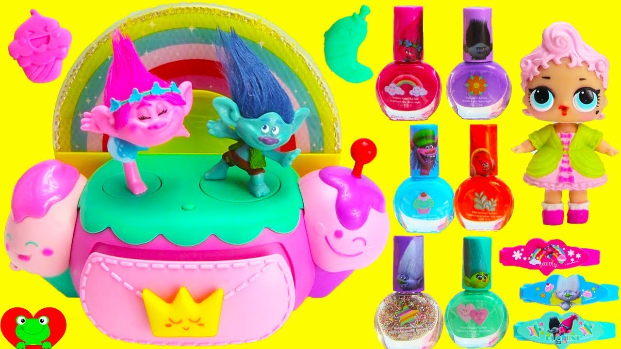 Trolls Poppy Music Jewelry Box with LOL Doll Surprises YouTube