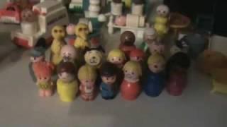 Garage Yard Sale Finds Vintage Little People Haul