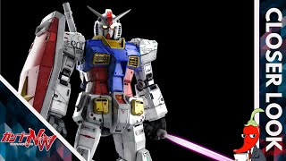Spicer Take A Closer Look At The PG Unleashed RX-78-2 Gundam
