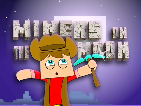 ♪ MINERS ON THE MOON - Minecraft Animation Song Parody