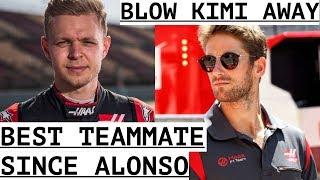 """Magnussen """"Best Teammate Since Alonso"""" - Grosjean """"Would Have Blown Raikkonen Away"""""""