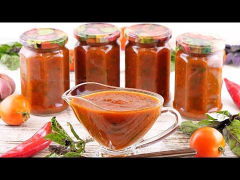 Вопрос: Как законсервировать томатный соус?