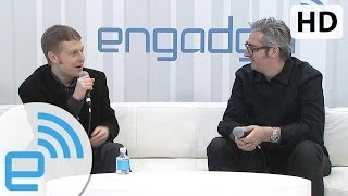 MakerBot CEO Bre Pettis Interview At CES 2014 | Engadget