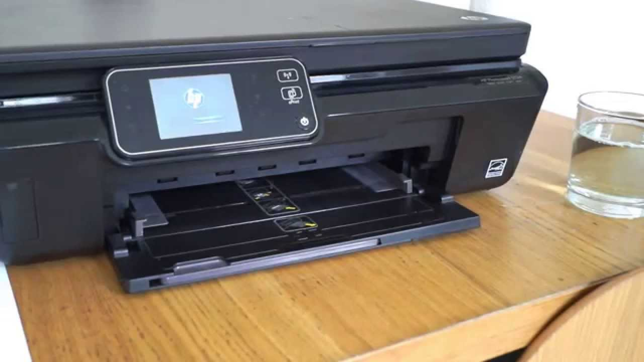 How To Fix A HP Printer Not Printing Black Ink And Missing Colours 5510 5515 5520 5524 3070A 364
