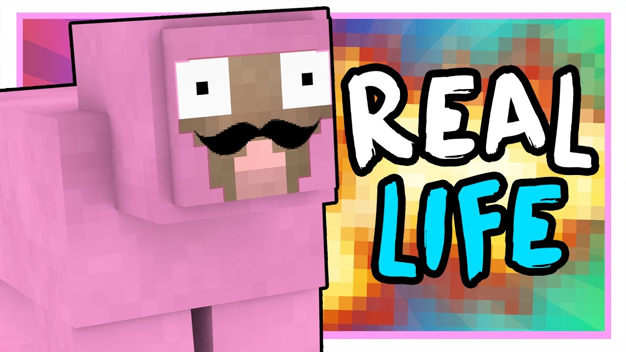 who is pink sheep in real life minecraft q a youtube
