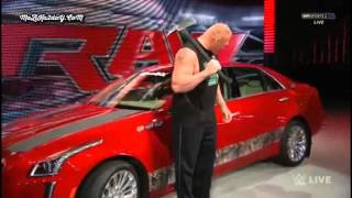Brock Lesnar Destroys J&J