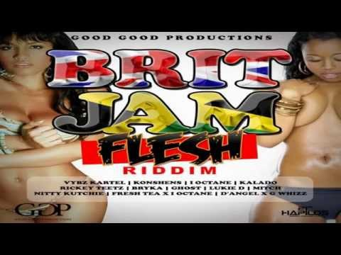 Brit Jam Flesh Riddim (Instrumental) 2015