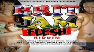 Brit Jam Flesh Riddim (Instrumental) 2015