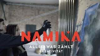 Kreativität (Streetart) - Folge 8 - Alles was zählt | Namika