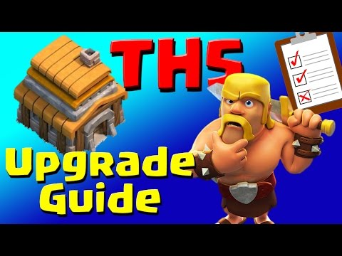 Clash Of Clans: TH5 Upgrade Priority List & Guide (JULY 2016) ULTIMATE!!