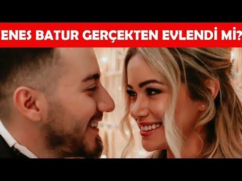 Enes Batur Evlendi mi? Yoksa Film Reklamı mı? Kiminle Evlendi?