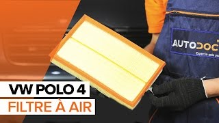 Changer filtre à air VW Polo | Tutoriel HD
