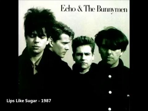 Echo And The Bunnymen - Lips Like Sugar (With Lyrics)