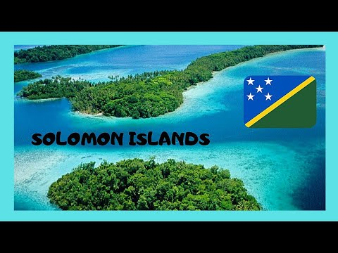 SOLOMON ISLANDS, the SHORTEST FLIGHT in the world, GIZO to M