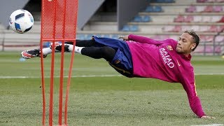 Neymar Jr  Skills Tricks Freestyle in Training