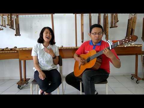 Garry ft Inke Ramadhani - Dunia Tanpa Lagu - (Delon) - Cover