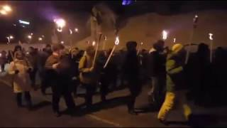 Київ | Смолоскипний марш пам'яті Героїв Крут |  29 01 2017