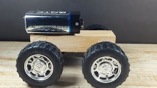 How to make a Car - Powered Car - Ultra Simple
