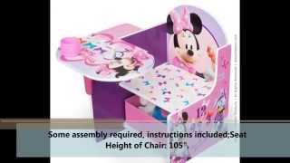 Minnie Desk Chair Review - Does  Delta Children's Minnie Desk Chair Work?