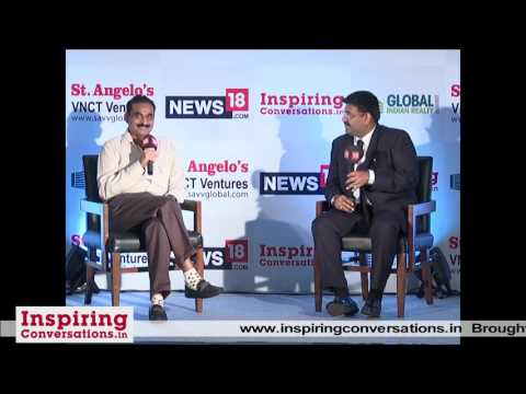 C. K. Ranganathan - Full Video of 27th INSPIRING CONVERSATIONS, Chennai. Interviewed by Agnelorajesh
