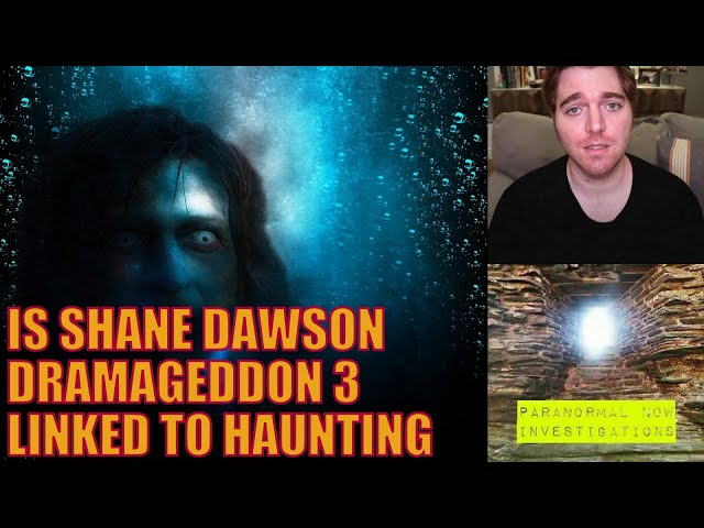 Is this the end for Shane Dawson dramaggedon 3! Demon in his house? Paranormal investigator reacts