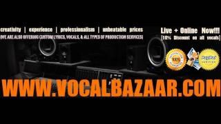 WWW.VOCALBAZAAR.COM | PUNJABI/BHANGRA VOCALS & MUSIC SERVICES