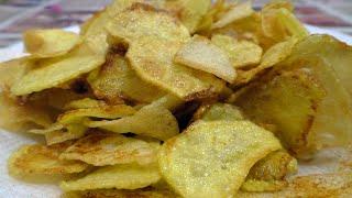 оОчень вкусные Домашние Чипсы или Как приготовить чипсы в домашних условиях