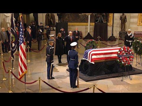 Hommage de Washington à George H.W. Bush
