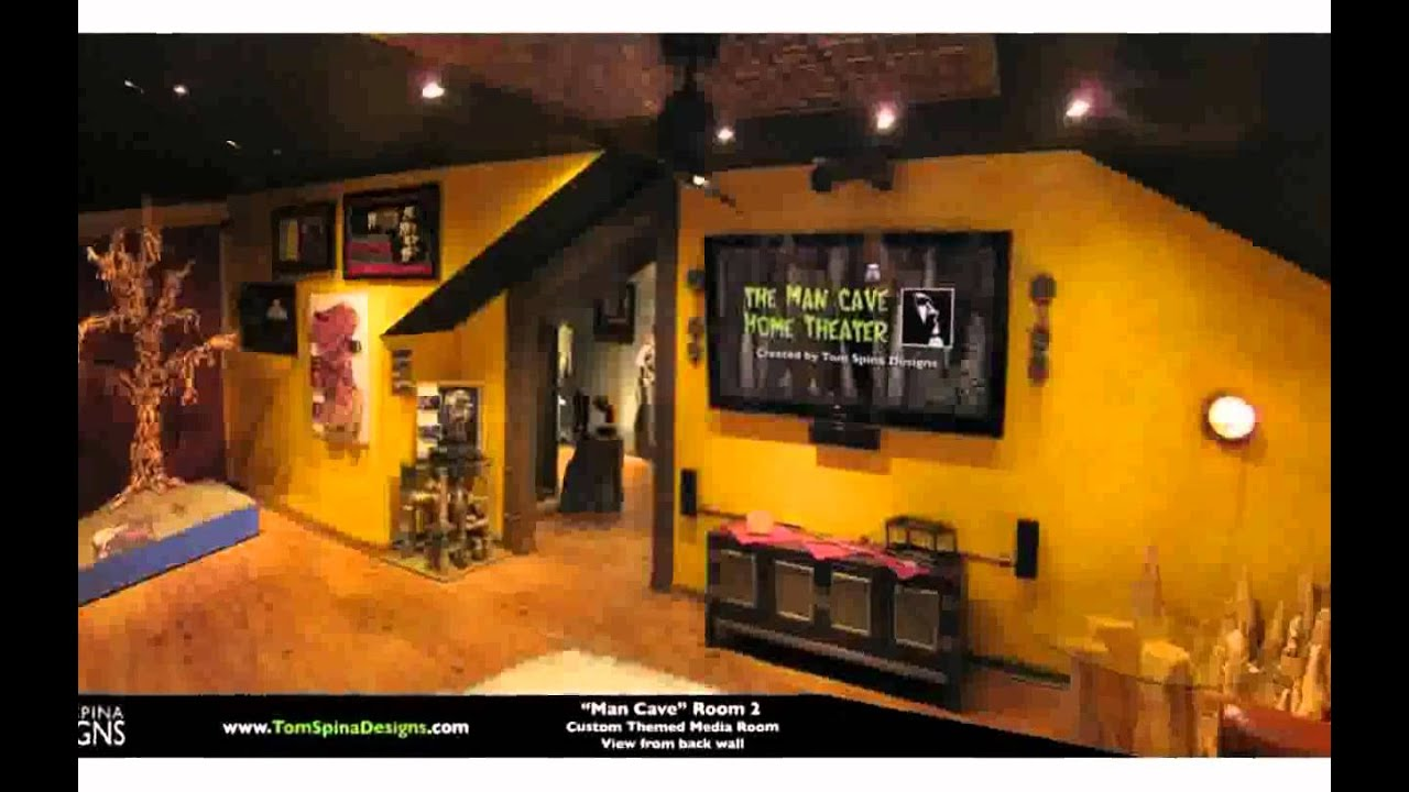 Awesome Man Caves - YouTube