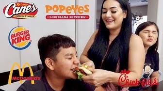 Tasting Fast Food Chicken Sandwiches!!!