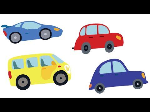 Развивающие мультики для малышей про машинки | Песни для детей | Я ВИЖУ