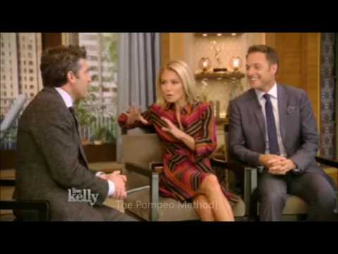 Patrick Dempsey on live with kelly