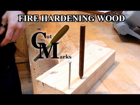 högmode fantastiskt urval träffa fire hardening wood, can it be used to create a bladed edge? - YouTube