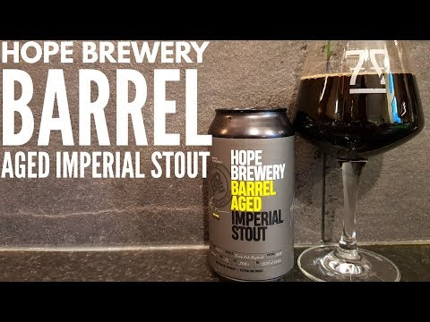 Hope Brewery Barrel Aged Imperial Stout By Hope Estate Brewery | Australian Craft Beer Review
