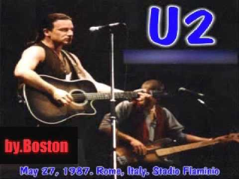 U2 Live 1987 Rome,  Stadio Flaminio full concert mp3