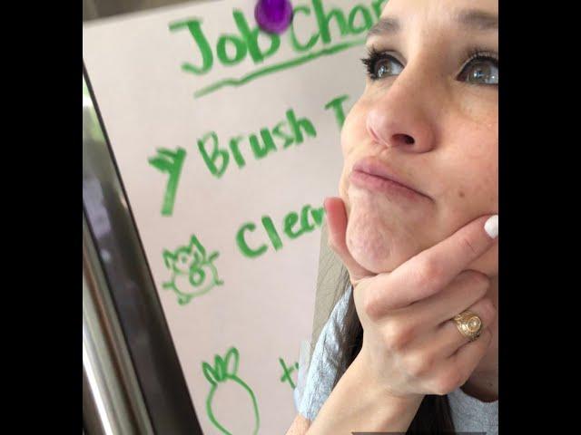 Creating a job chart