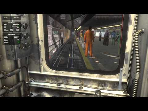 World of Subways 4 - Queens to Manhattan Full Route HD
