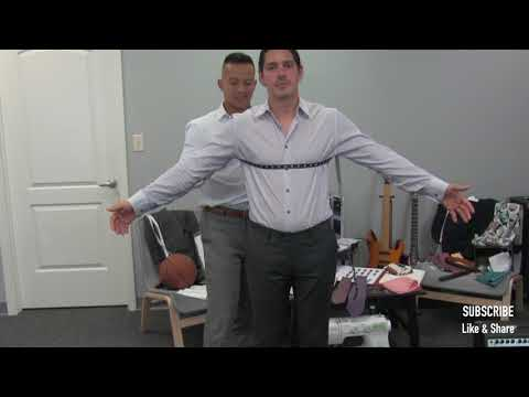How To Measure For A Suit Jacket - Blazer