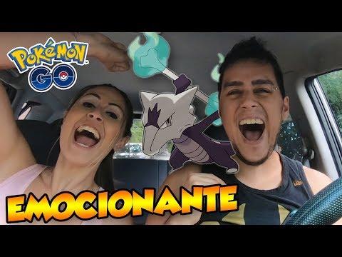 MAROAK DE ALOLA EM DUPLA (EMOCIONANTE) - Pokémon Go Derrotando Raid Boss (Parte 34) thumbnail