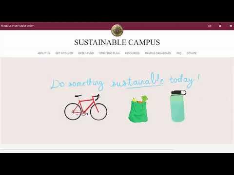 FSU Facilities Sustainable Campus
