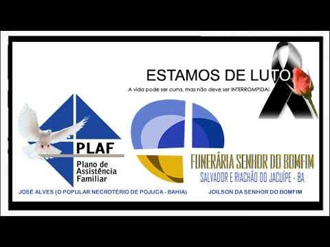 Homenagem da Funerária Plaf e Funerária Senhor do Bonfim para Roberto Gaúcho da Funerária Estrela do